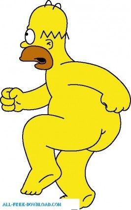 15 pinterest - Les simpson nue ...