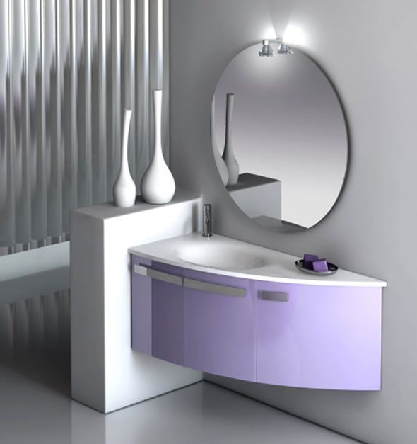If you have a modern bathroom, you can go for a contemporary bathroom mirror with a minimalist design. This incredible bathroom mirror is perfect for those of you, who appreciate the less-is-more approach. This mirror will make a beautiful addition to your bathroom, without attracting all the attention. This way the focus will be on the modern furniture, fixtures or decorations.