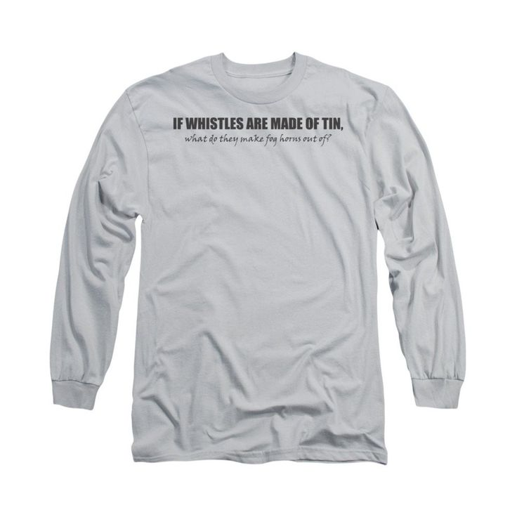 Whistles Adult Long Sleeve T-Shirt
