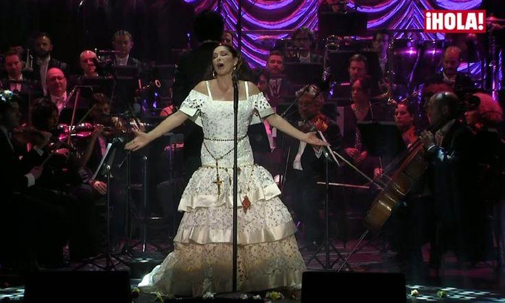 En vídeo: Así vivió la familia Pantoja la gran noche de la artista