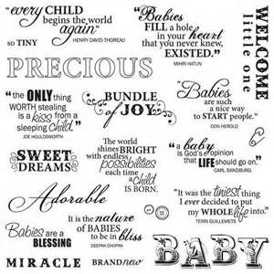 Baby Scrapbooking Quotes