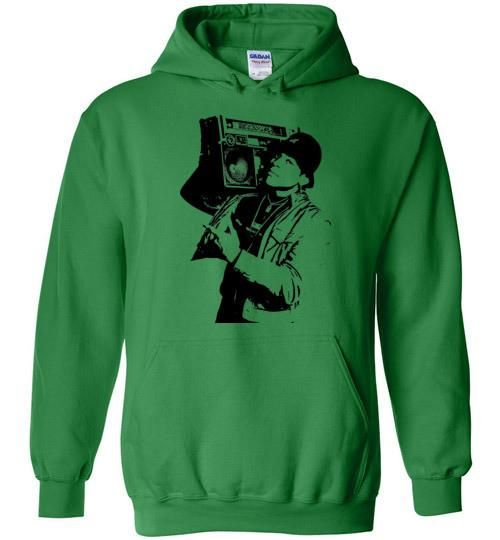 LL Cool J,I Can't Live Without My Radio,Rock The Bells,I'm Bad,Classic Hip Hop,New York,Old School Rap,Def Jam,Gildan Heavy Blend Hoodie