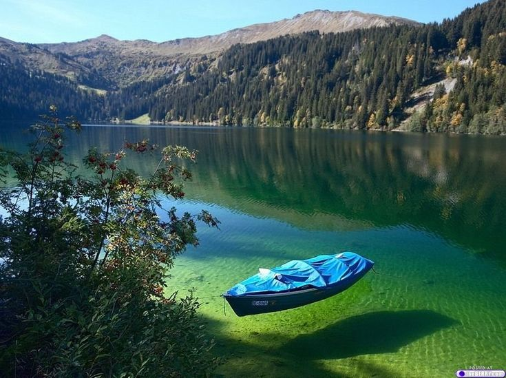 crystal clear water - beautiful lake