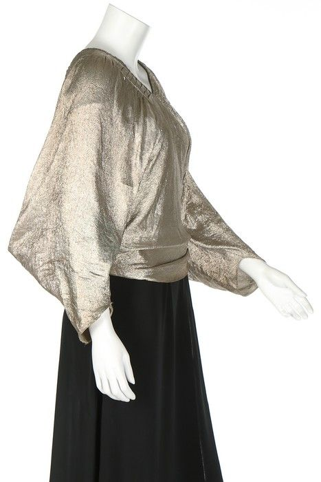 Evening Blouse (image 2)   House of Lanvin   Winter 1934-1935   lane   Kerry Taylor Auctions   December 12, 2016