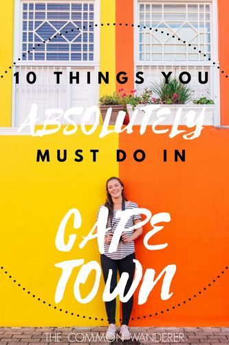 There's no city in the world quite like Cape Town, South Africa. If you're planning a visit, here are our recommendations for things to do in Cape Town.