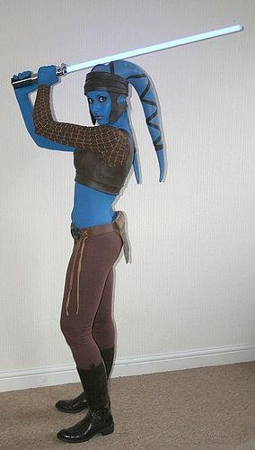 Aayla Secura costume, via Flickr.