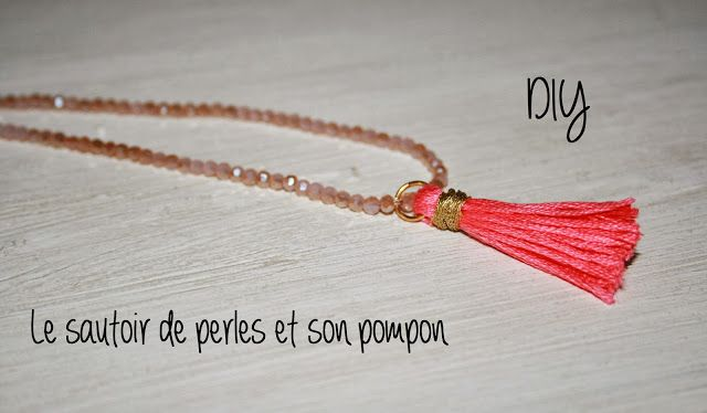 Le blog d'Anastasia: DIY: Le collier pompon //  DIY: The pompon necklac...