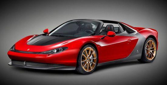 WEB LUXO - Carros de Luxo: Ferrari Sergio é apresentada oficialmente