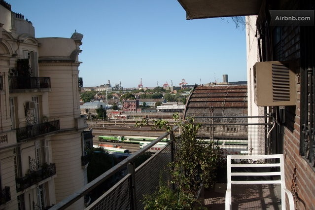 2 BR 24 Security Balcony Wifi  in Buenos Aires