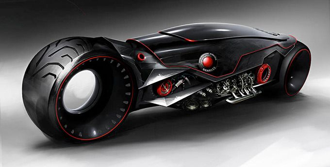 Concept Motorcycles - Moto moderna conceito