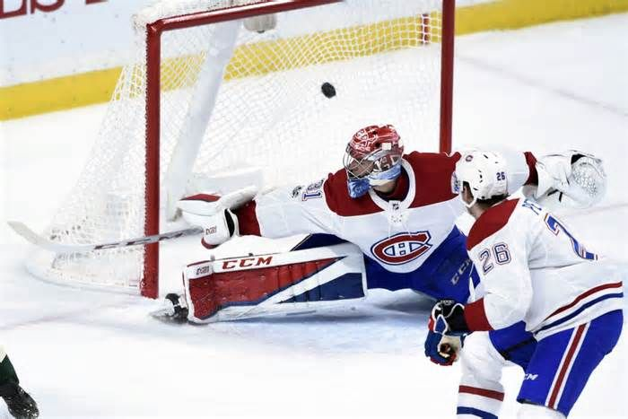 Canadiens like having AHL's Laval Rocket close at hand LAVAL, Quebec (AP) — There are 18 subway stops between the Montreal Canadiens' home rink and that of the team's new American Hockey League affiliate, the Laval Rocket. Not that players are big users of public transit, but having their top farm club close ...