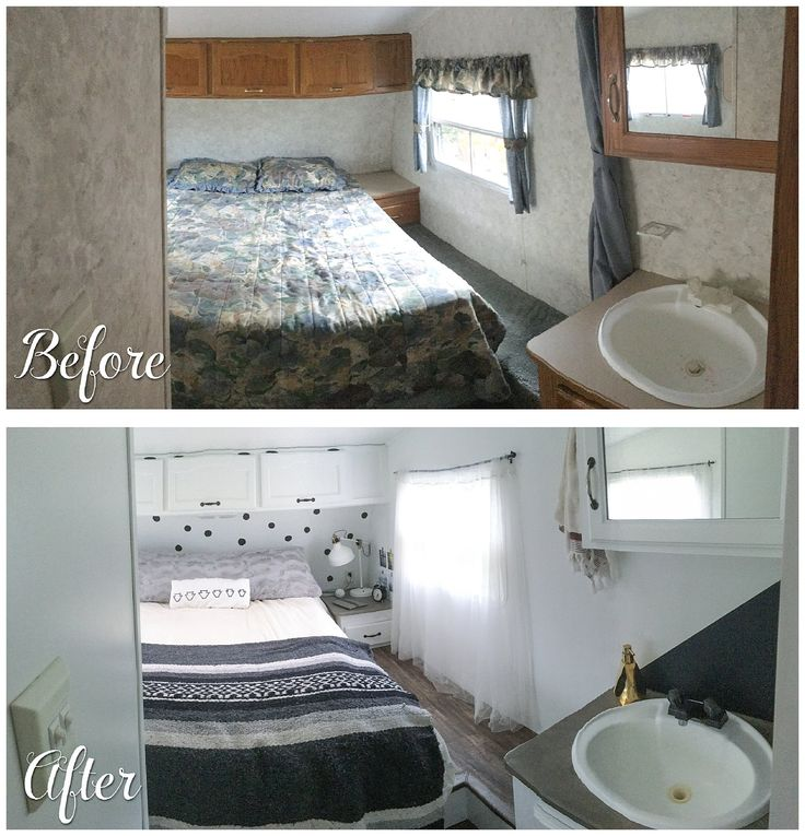 Before And After Pictures Of Bedroom Makeovers Bedroom Ideas Pinterest Diy Boy Lamps For Bedroom Anime Fan Bedroom: 57 Best Images About Camper Makeover On Pinterest