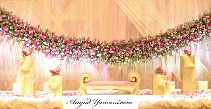 Arabic Wedding Stage Wedding Decoration Themes Pinterest