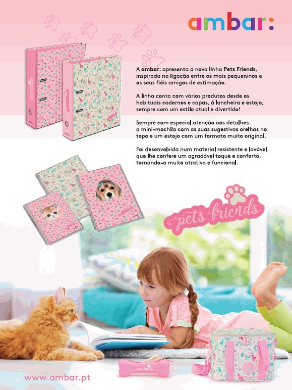 A coleção Pets & Friends da ambar está na Revista Caras Kids!