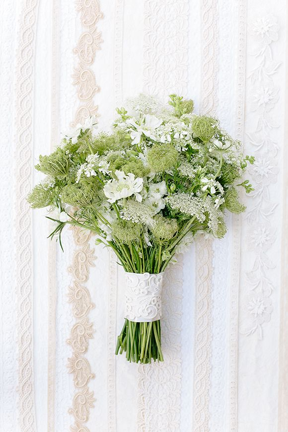 Queen Anne's lace inspiration by Annabella Charles, Everbloom Designs and Haute Horticulture
