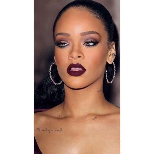 Bild: Lips that sting on Pinterest | Dark Lipstick, Dark Lips and... ❤ liked on Polyvore featuring blending brush and blender brush