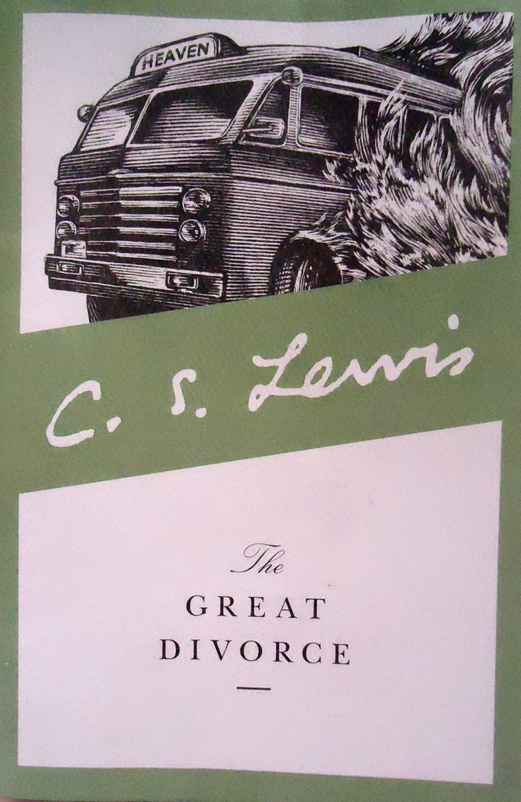 response to the great divorce The great divorce is based on lewis's book of the same name published in 1946  which, as lewis alludes to in his preface, is a response to.