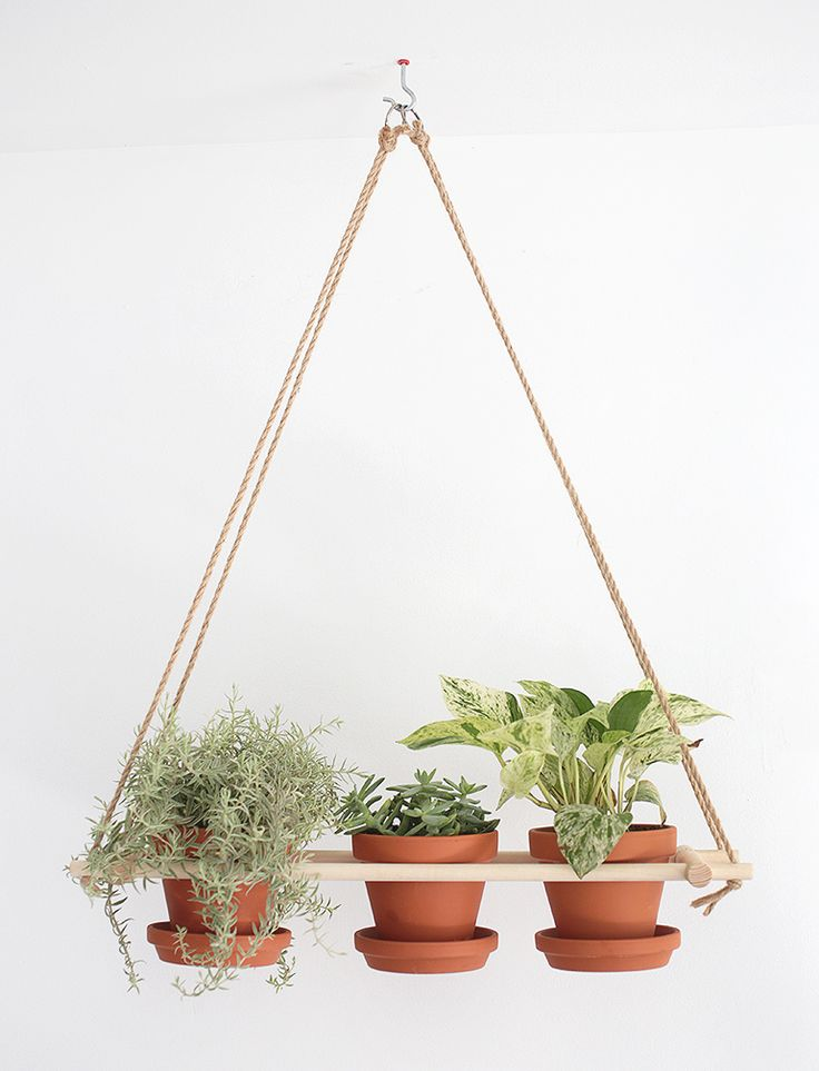 DIY Hanging Planter Tutorial | the merrythought