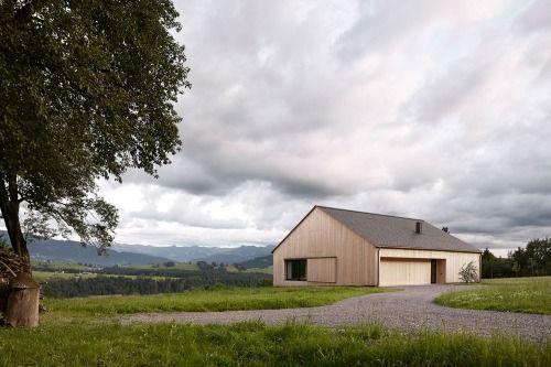 Bernardo Bader - Kaltschmieden house, Doren 2014. Photos (C)...
