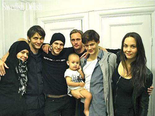 Alexander Skarsgard and His Family | Ossian Skarsgard