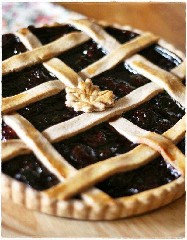 Crostata di ciliegie all'aceto balsamico - Balsamic cherry tart