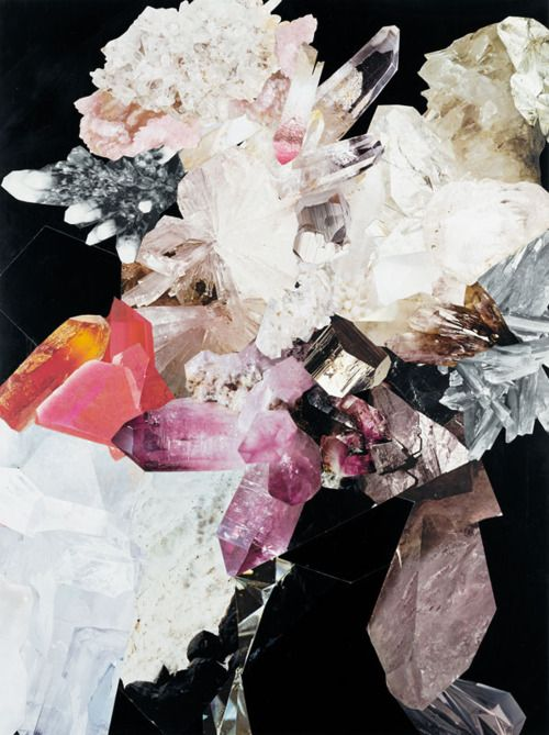 ........Crystals, Pattern, Collage Art, Colors Palettes, Rocks Collection, Nicole Wermer, Stones, Colours Palettes, Minerals