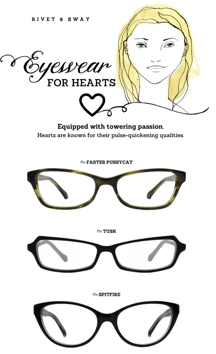 What Eyeglass Frames Fit My Face : 152 best images about Choosing Perfect Eyeglasses on Pinterest