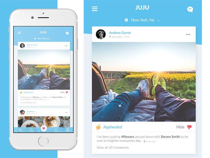 Juju Feed App by Ohmyfunsite