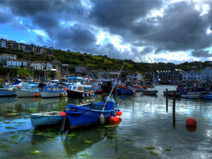 Mevagissy Harbour, Cornwall (Photo © Pete Willis)