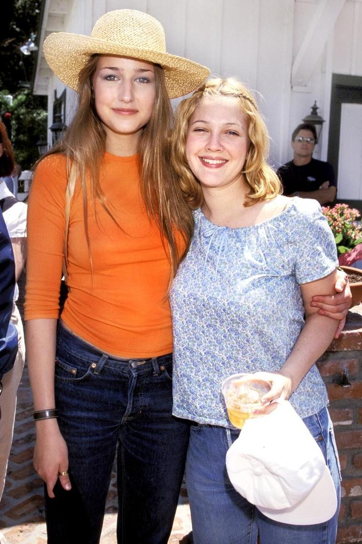 Drew Barrymore y Leelee Sobieski
