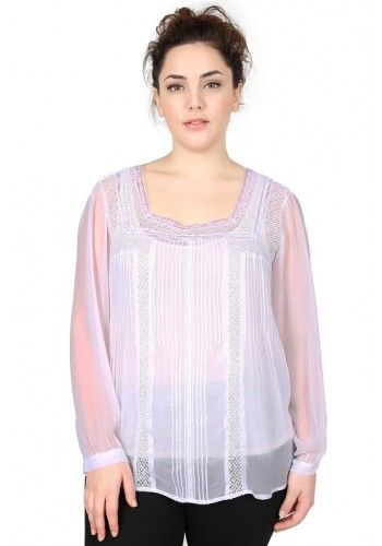 Blouse Chaya grande taille - Dispo sur https://www.pampleon.com/4-mode?id_category=4&n=76