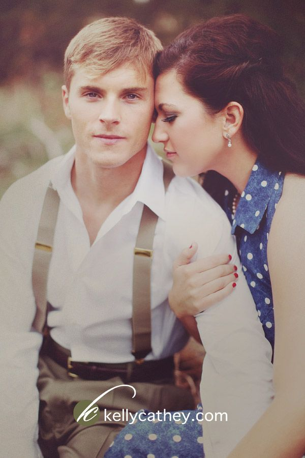 Vintage Engagement, The Notebook inspired engagement photography