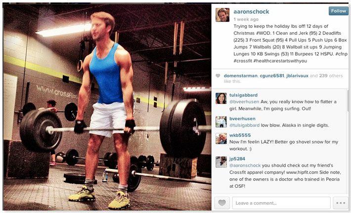 The 7 gayest Aaron Schock Instagram posts of 2013