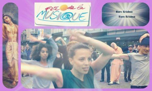 What happens when you chant Hare Krishna in the streets of Paris? (1 min video) Srila Prabhupada: Sri Caitanya Mahaprabhu is de…