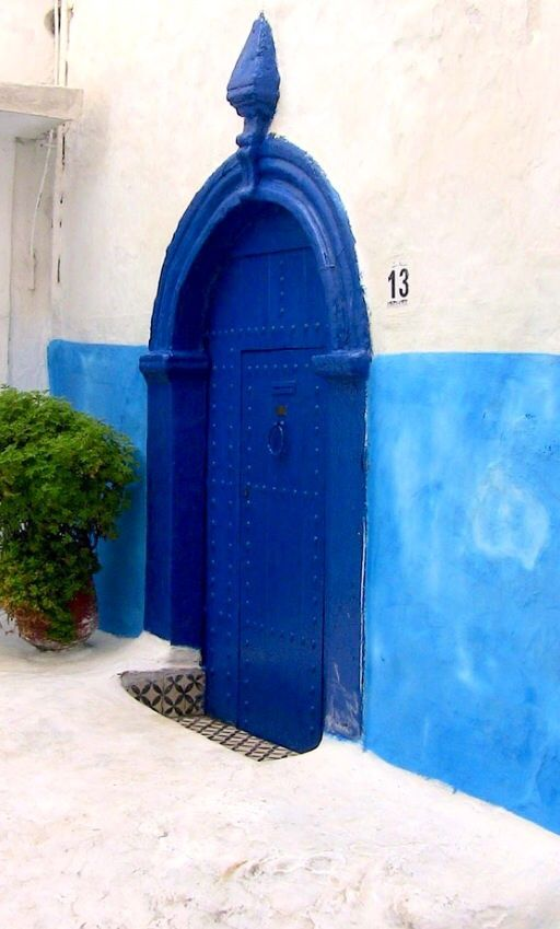 Blue Door, Rabat, Morocco