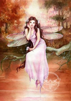 Dragonfly by JannaFairyArt
