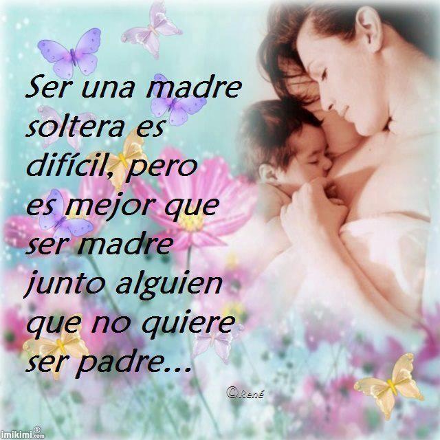 madres solteras co bebes | Ser madre soltera es difícil, pero es mejor que ser madre junto a ...