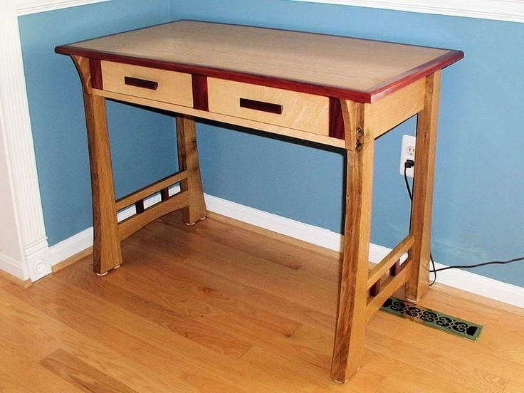 Small Wooden Desk Wood