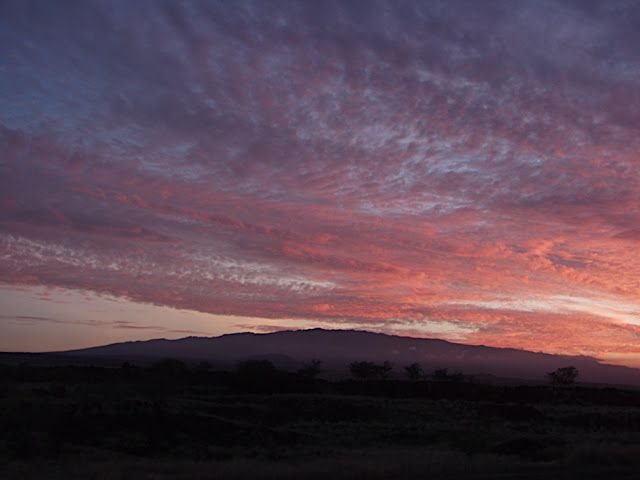 sunrise from 35,000 feet | Восходы,закаты,грозы на Гаваях Hawaii ...