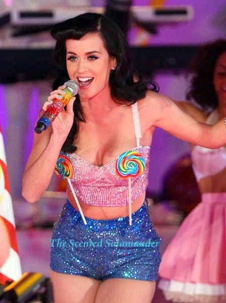 Katy Perry! She's so funny and cute!