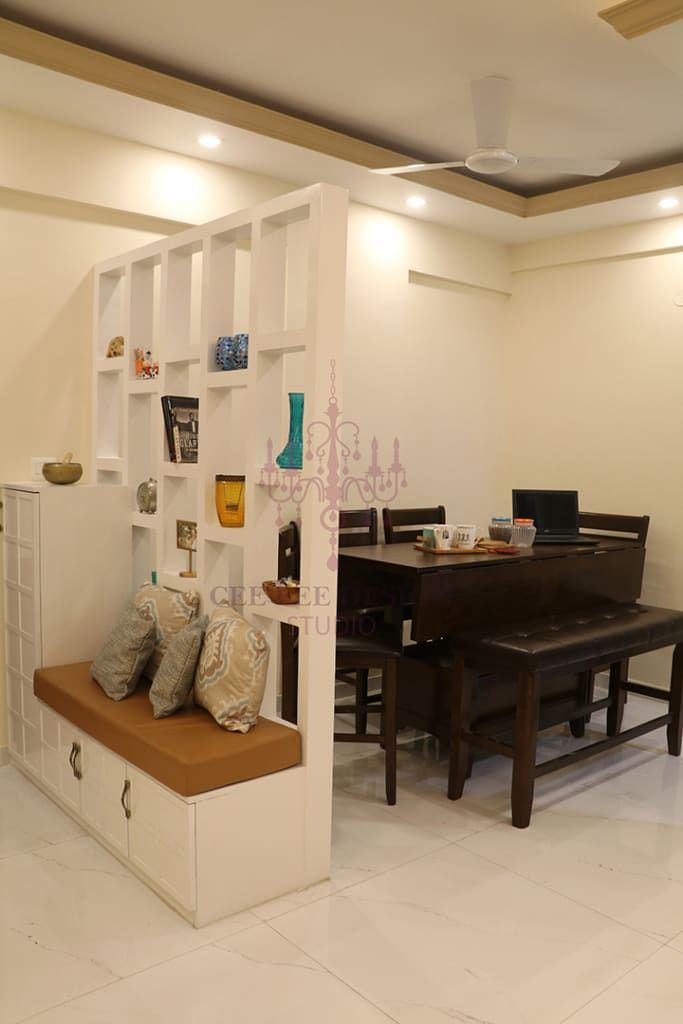 2 Bhk Apartment Of Mr Santosh Nambiath Bangalore Country Style