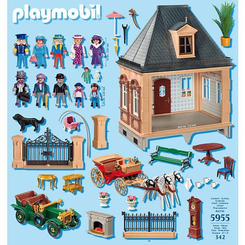 FAO Schwarz is 150! A Victorian Playmobil to celebrate