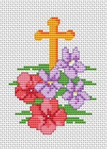 Великден 4 free cross stitch pattern