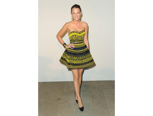 FNO Fashion Show: Living Style, Miniskirt,  Minis, Blake Lively, Blake Living, Fashion Night, The Dresses, Tribal Prints, Stylish Dresses