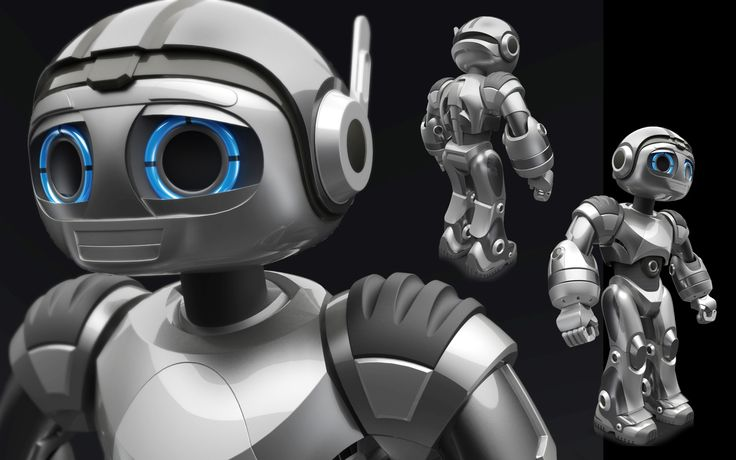 Robot 3D Surfacing & Rendering for the movie Robosapien Rebooted by WowWee
