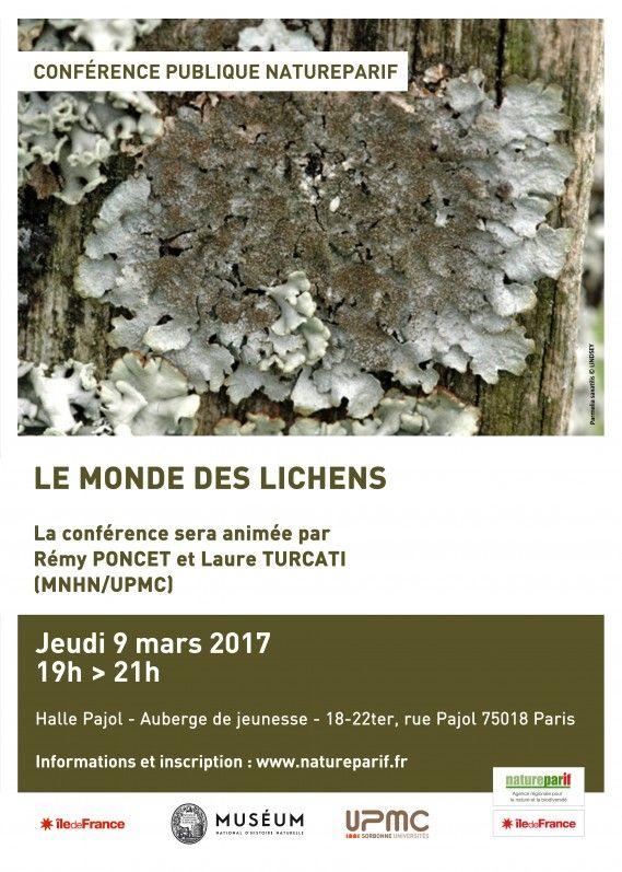 #Conférence de @Natureparif sur le monde des #lichens http://www.pariscotejardin.fr/2017/03/conference-de-natureparif-sur-le-monde-des-lichens/