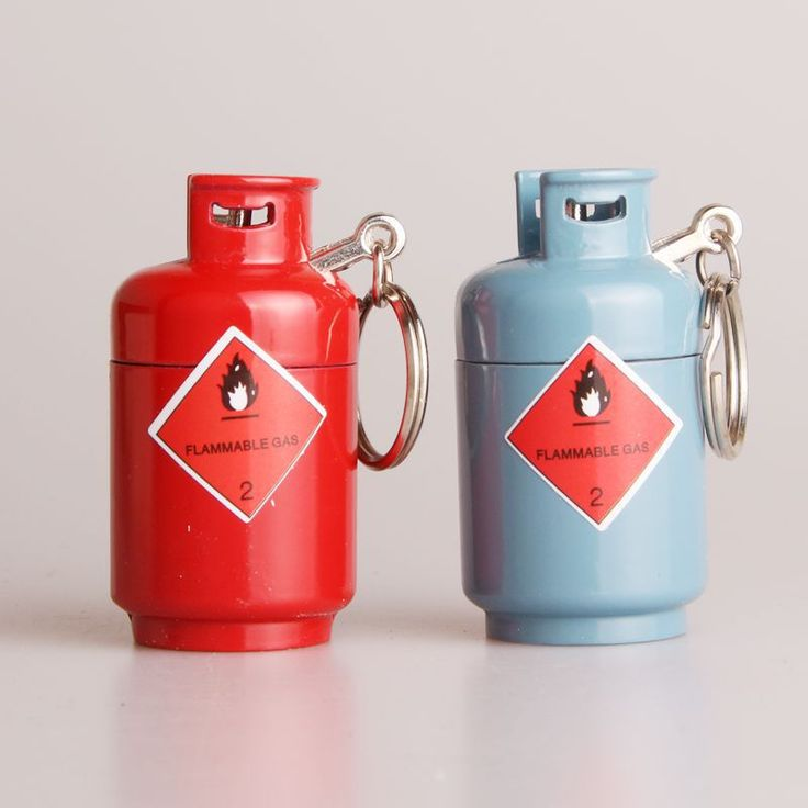 Portable Creative Gas-Jar Gas Tank Mini Cigarette Cigar Fire Keychain Lighters Fuel Bushcraft Match Camp Hike Gas Lighter NO GAS