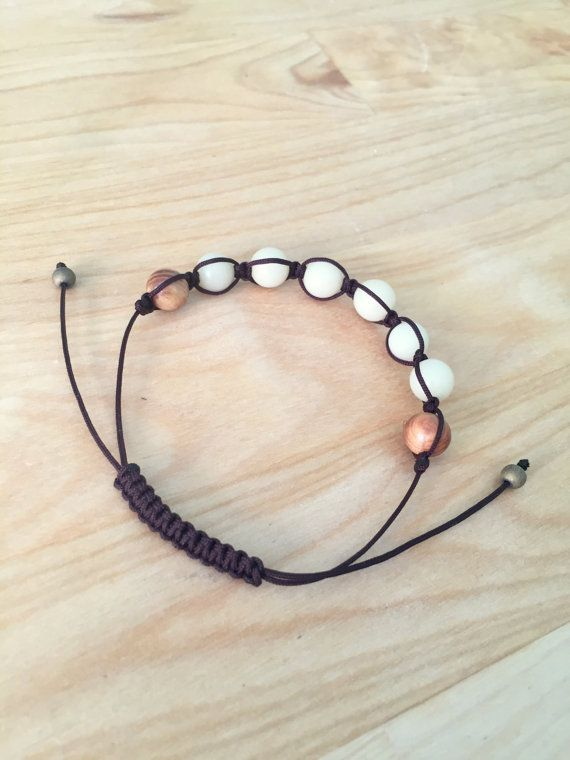 Mens Beaded Bracelet Shamballa Bracelet by SentimentalSilver4U