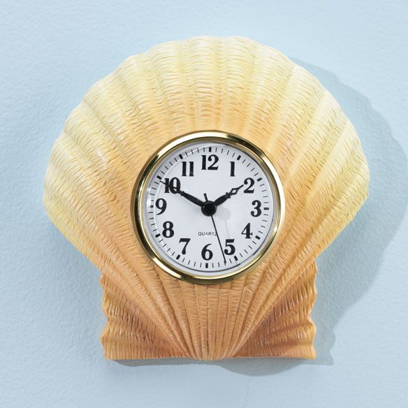 Shell Bathroom Clock Part 33