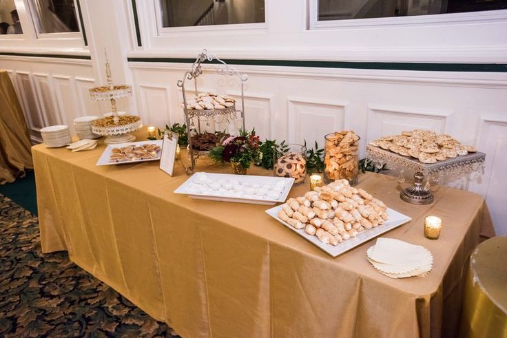 Elaina & Brian | Soldiers & Sailors Museum| Grand Ballroom | Pittsburgh Wedding | Fall Wedding | October Wedding | Rania's Catering | Goldstein Photography | Grey Phoenix Lighting | Cookie Table |